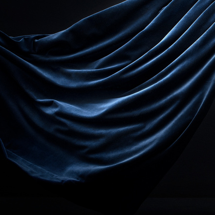 Paolo Curtain - Ink blue
