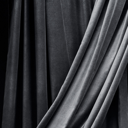 Paolo Curtain - Dark charcoal grey