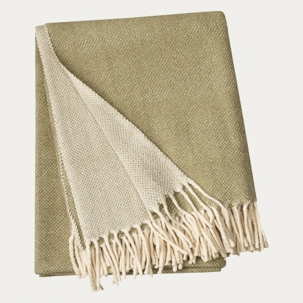 Bogart Throw - Khaki Green