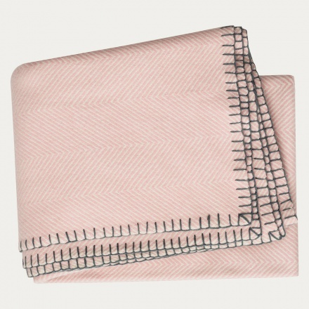 Empire Throw - Dusty pink