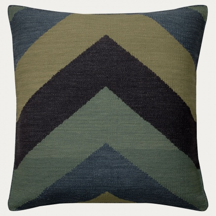 Burton Cushion Cover - Dark Grey Blue