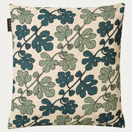 Cary Cushion Cover - Dark Grey Turquoise