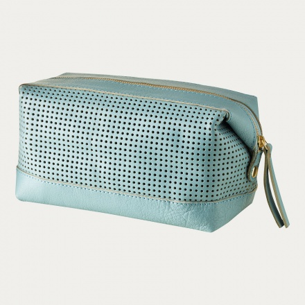 Capra Toiletry Bag - Ice Green