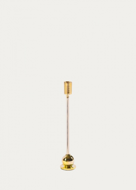 Kahn Candle Holder - Brass