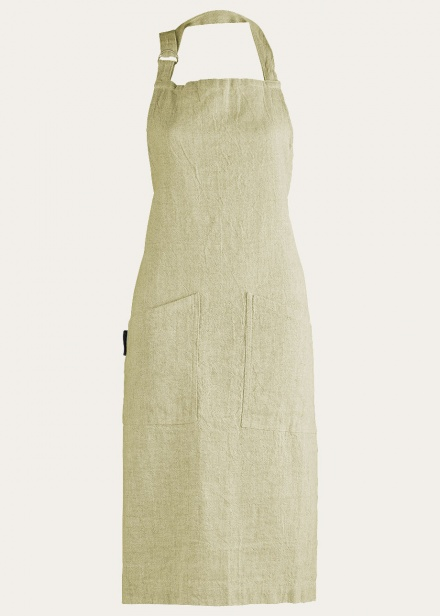 Hedvig Apron - Light Cypress Green