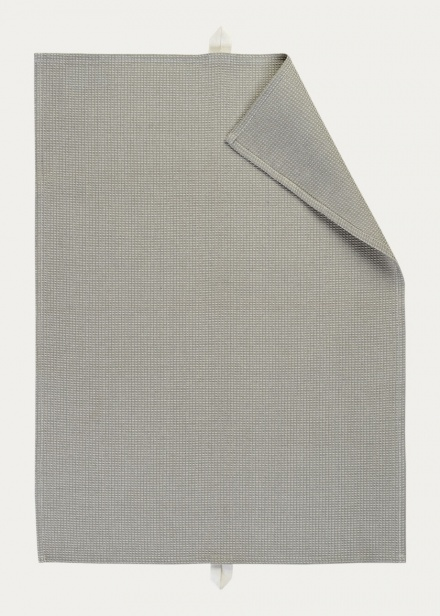Agnes Tea towel - Light Stone Grey