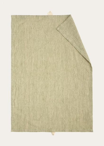 Hedvig Tea Towel - Light Cypress Green