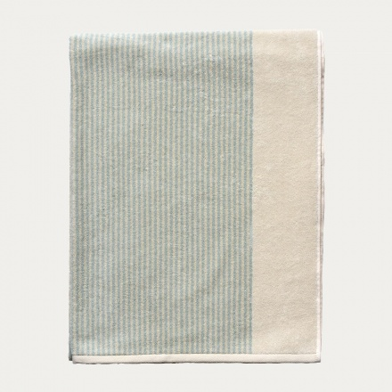 Venezia Bath Towel - Light Dusty Turquoise