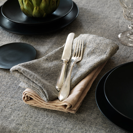 Hedvig Tablecloth - Black