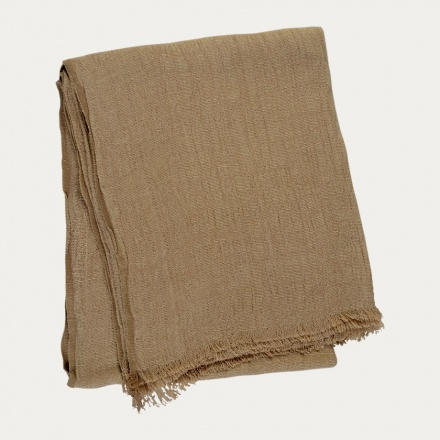 Pomezia Throw - Camel Brown