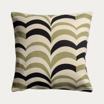 Arezzo Cushion Cover - Soft Grey Green