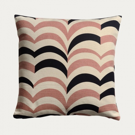 Arezzo Cushion Cover - Misty Grey Pink