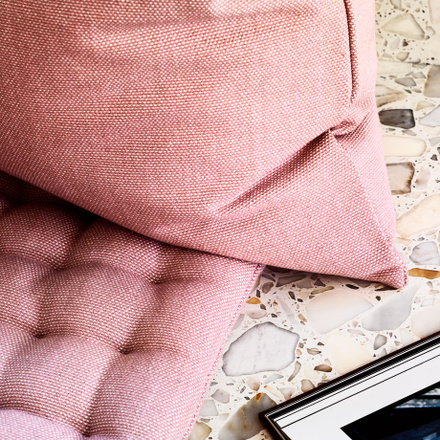 Pepper Cushion Cover - Coral Red