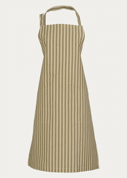 SLUSSEN APRON - Golden Olive Green