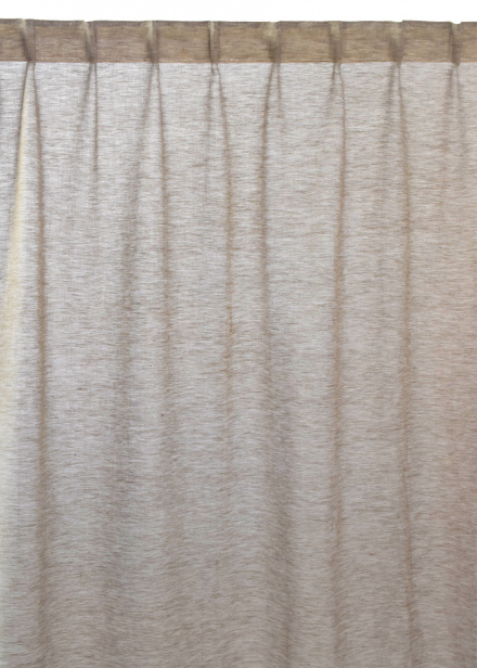 Intermezzo Curtain - Mole brown