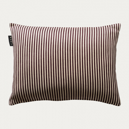 CALCIO CUSHION COVER - Dark Burgundy Red