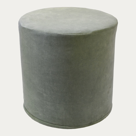 PAOLO POUF COVER - Light Ice Green