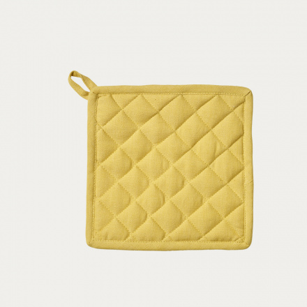 Sara Pot holder - Mustard yellow