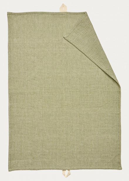 Agnes Tea towel - Light cypress green
