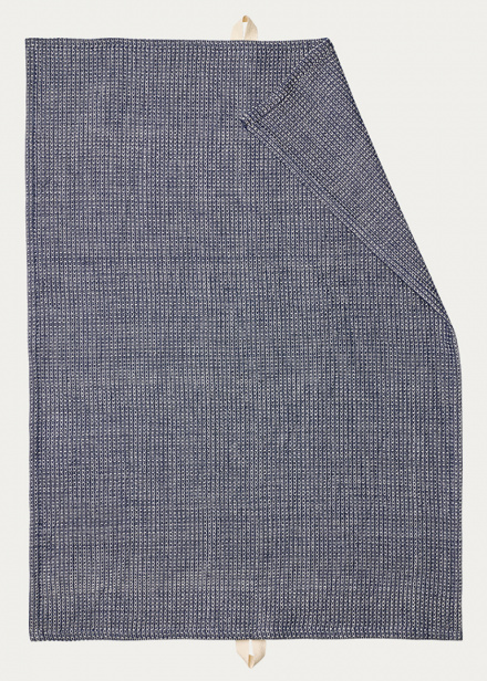 Agnes Tea towel - Ink blue