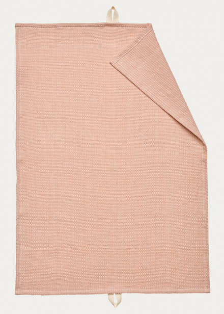 Agnes Tea towel - Dusty pink