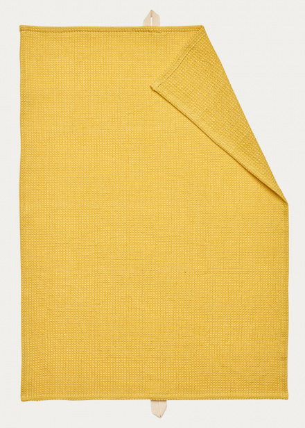 Agnes Tea towel - Mustard yellow
