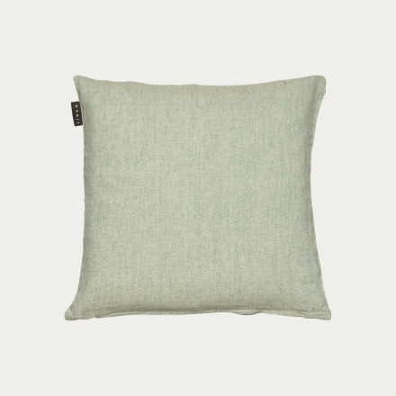 HEDVIG CUSHION COVER - Bright grey turquoise