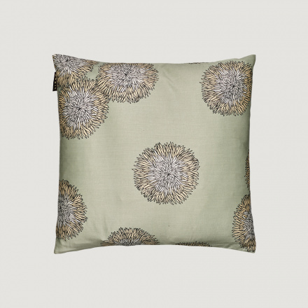 SONATA CUSHION COVER - Light ice green