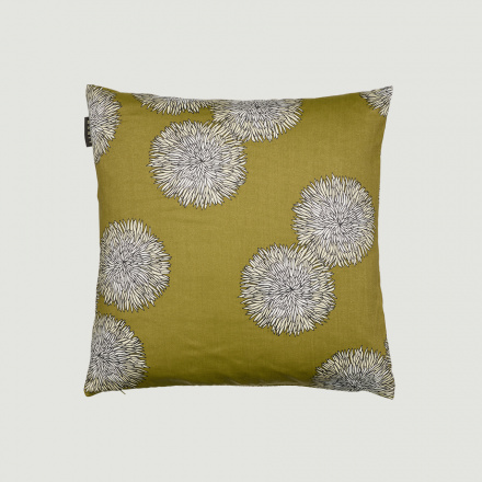 SONATA CUSHION COVER - Golden olive green