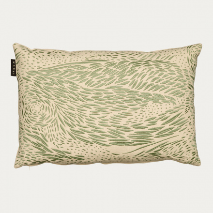 STROMBOLI CUSHION COVER - Grey green