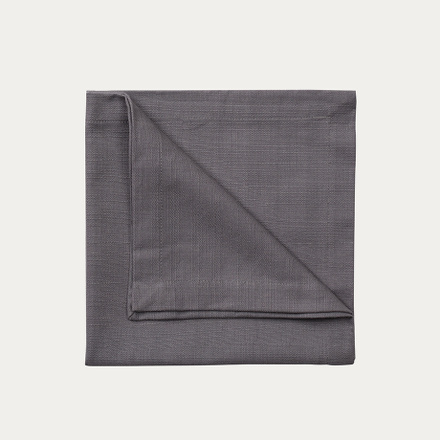 Bianca Napkin - Granite grey
