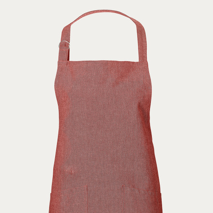 Sara Apron - Dark red