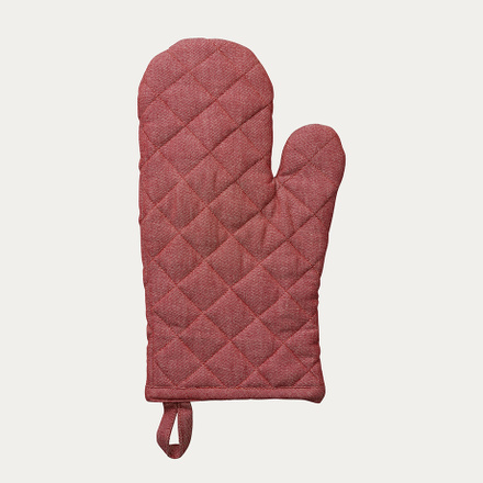 Sara Oven mitt - Dark red