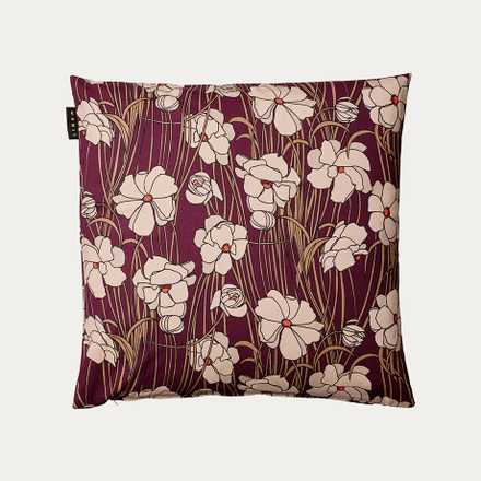 Jazz Cushion cover - Burgundy red