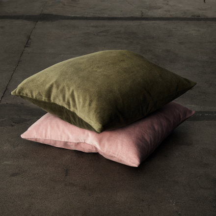 Paolo cushion cover - Golden olive green
