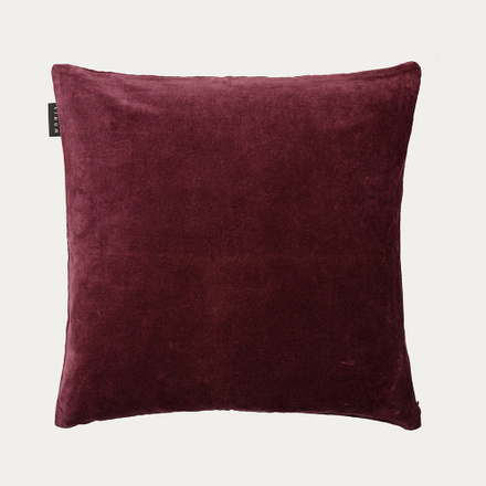 Paolo cushion cover - Dark burgundy red