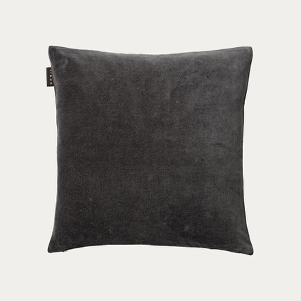 Paolo cushion cover - Dark charcoal grey