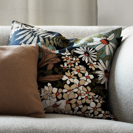 Utanmyra Cushion cover - Ebony grey