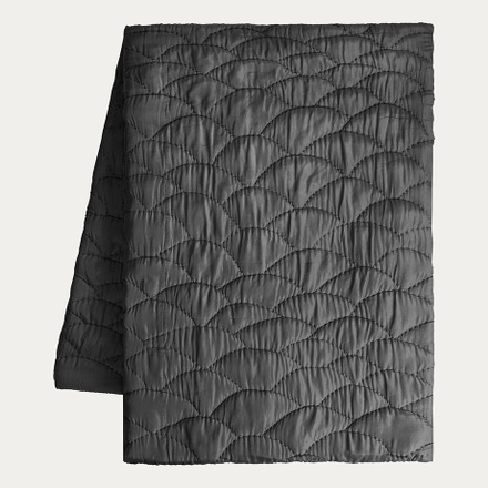 saga-bedspread-dark-charcoal-grey