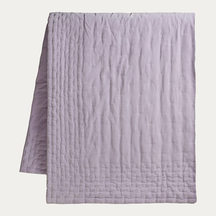 Paolo Bedspread - Bright lavender purple