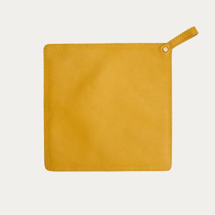 FUEGO POT HOLDER - MUSTARD YELLOW