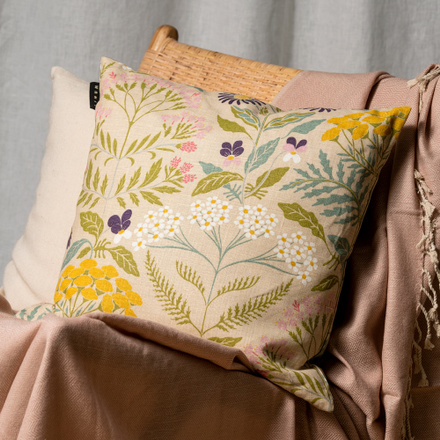 Midsummer Cushion cover - Creamy beige