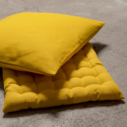 Pepper Seat Cushion - Tangerine Yellow