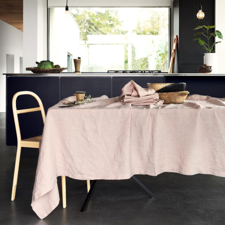 West Tablecloth - Light Dusty Pink