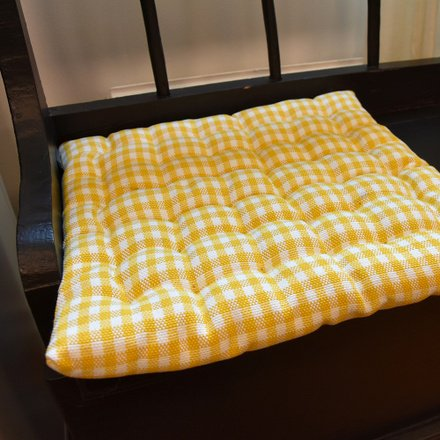 Osby Seat Cushion - Tangerine Yellow