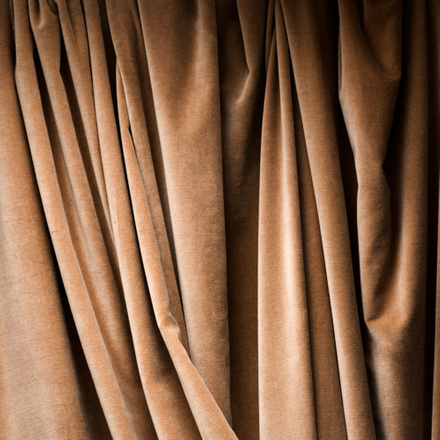 Paolo Curtain - Camel brown